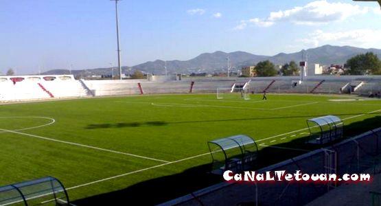 شاشة كبرى لمتابعة مباراة المغرب التطواني والرجاء بملعب سانية الرمل !