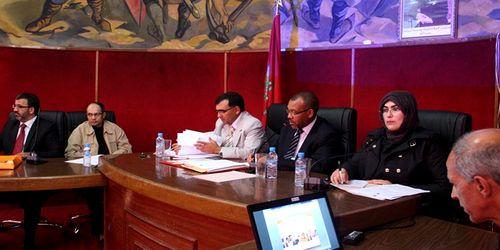 تطوان : ملفات ومناقشات جادة تمت مداولتها في دورة أبريل العادية 2014