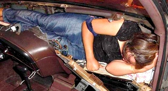 إيقاف شخص بباب سبتة حاول تهجير سيدة داخل الصندوق الخلفي للسيارة