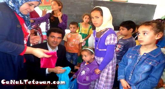 قافلة طبية بقرية اوشتام بتطوان