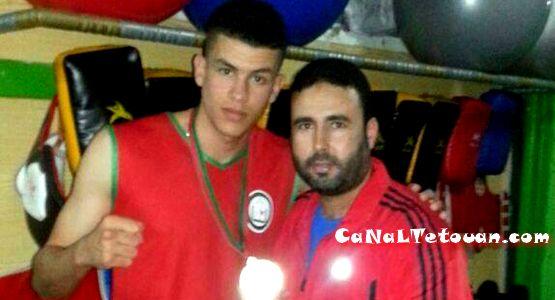 البطل المرتيلي عزيز الفلاق يتألق رفقة المنتخب الوطني بفوزه بالبطولة العربية بأكادير