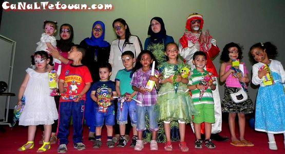 جمعية غفران بمرتيل تحتفل ببراعمها في حفل نهاية السنة الدراسية