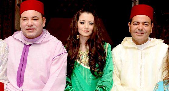 الأمير المغربي مولاي رشيد يعقد قرانه