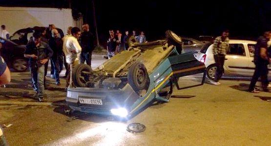 حادثة سير خطيرة بكورنيش طنجة كادت تتسبب في مأساة