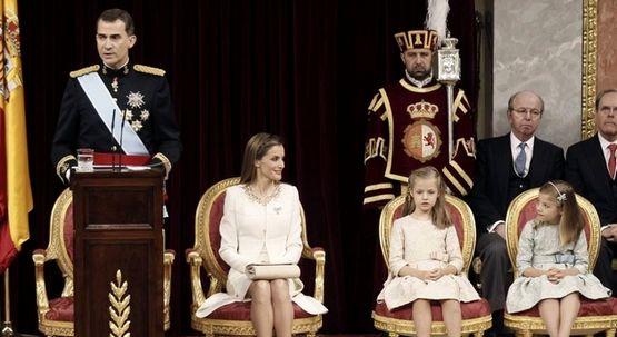 """الملك فيليبي السادس يتعهد بالحفاظ على """"وحدة إسبانيا"""""""