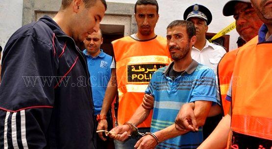 اعادة تمثيل جريمة القتل التي راح ضحيتها شاب بحي السويقة بتطوان (صور)