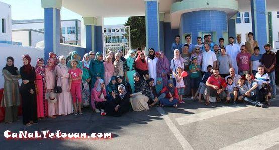 زيارة جماعية للأطفال المتخلى عنهم بمهد البراءة بمستشفى سانية الرمل بتطوان