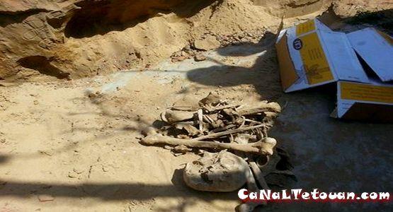 العثور على هيكل عظمي لأدمي بالواد المالح بمرتيل يستنفر أجهزة الأمن (صور)