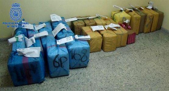 الأمن الإسباني يحجز 840 كيلوغرام من الحشيش قادمة من المغرب