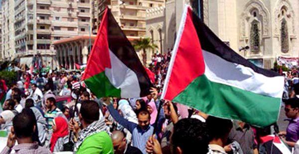 تظاهرة حاشدة بسبتة المحتلة تندد بالعنف الاسرائيلي ضد أهالي غزة