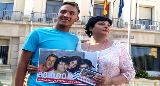 اطلاق حملة تضامن واسعة من طرف ساكنة سبتة المحتلة مع طفل مغربي !