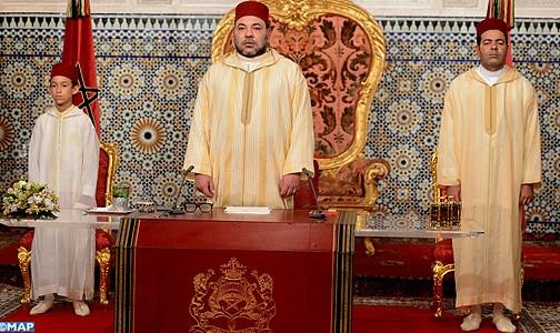 نص الخطاب الذي وجهه جلالة الملك إلى الأمة بمناسبة الذكرى ال 15 لاعتلاء جلالته العرش