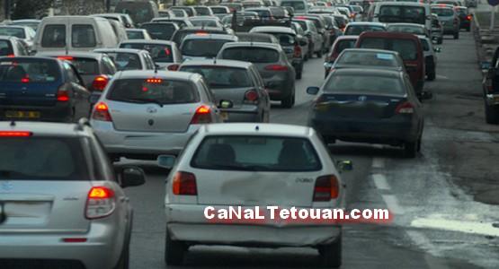 ايلاج مسارات أخرى لتخفيف وطء الاختناق المروري لشارع محمد السادس بتطوان