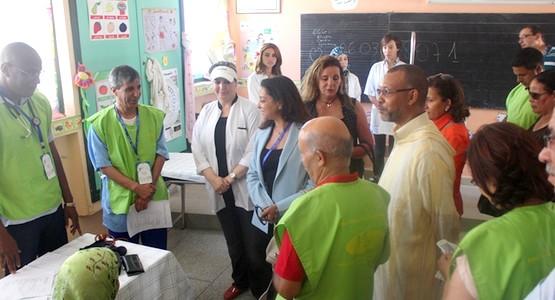 قافلة طبية بحي جامع مزواق بتطوان ضمن فعاليات مهرجان أصوات نسائية
