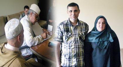 امرأة اسبانية تشهر اسلامها بمقر المجلس العلمي بالمغرب