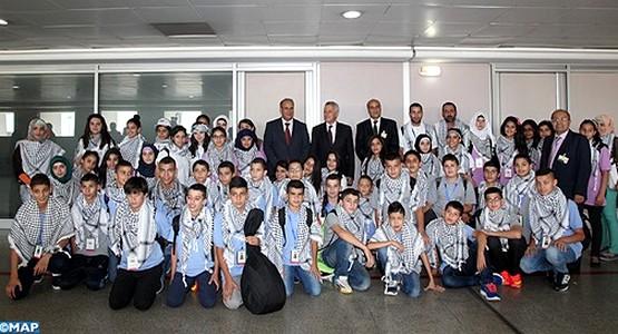 أزيد من 40 طفلا من القدس يحلون بالمغرب للمشاركة في مخيم صيفي
