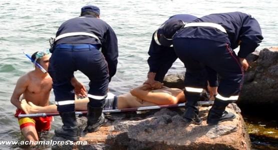 بعد حاول الوصول الى سبتة عن طريق السباحة .. شاب يلقى مصرعه غرقا !