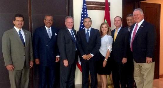 الوالي محمد اليعقوبي يستضيف وفد أمريكي لترتيب زيارة أوباما إلى طنجة