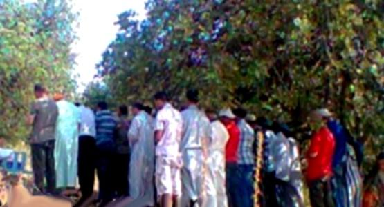 شفشانيون يصلون في العراء بعد إغلاق مندوبية الأوقاف لمسجدهم !