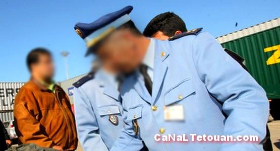 رجال الجمارك يحجزون سيارة محملة بالمخدرات بين طنجة وتطوان !