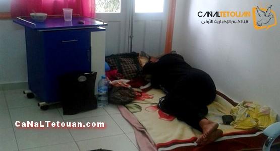 كارثة بقسم الولادة بمستشفى سانية الرمل بتطوان ! من المسؤول ؟