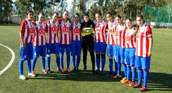 تأهل فريق المغرب التطواني إناث في منافسات كأس العرش