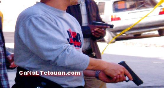 وفاة شخص هدد رجال الأمن وأطلق النار على نفسه بالقصر الكبير