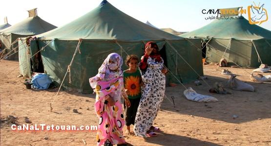 جمعية إسبانية ترسل 20 طنا من المواد الغذائية لسكان مخيمات تندوف