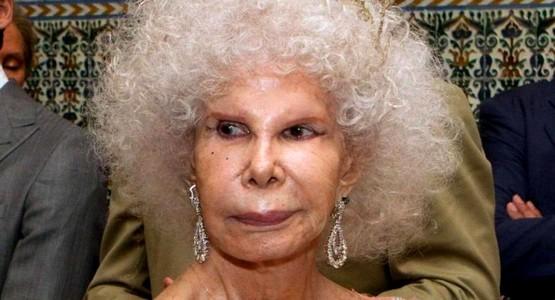 وفاة أغنى امرأة بإسبانيا والأكثر ألقابا في العالم