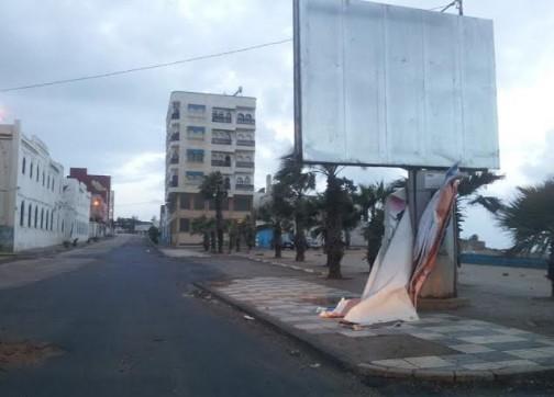 سكان العرائش يعتمدون على مجهوداتهم الخاصة لمواجهة الفيضانات