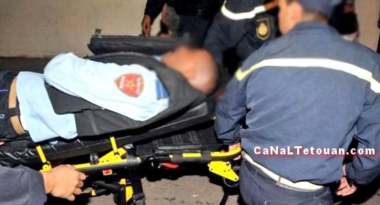 عصابة تهاجم شرطي بالسلاح الأبيض بطنجة