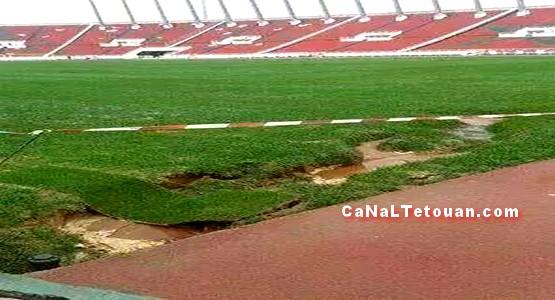 من جديد … حالة أرضية ملعب الرباط تقلق ادارة ريال مدريد !