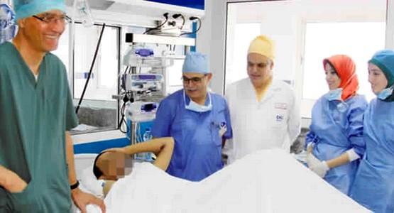 نجاح عملية زرع الكبد لمريض يعاني من التشمع في مراحله القاتلة