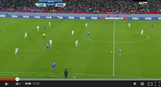 معلق يستهزئ بالمغاربة في مباراة ريال مدريد بملعب مراكش (فيديو)