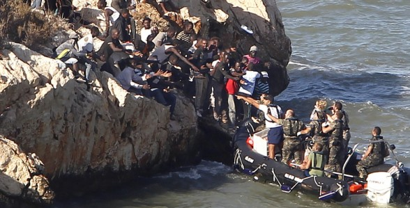 هذا هو عدد المهاجرين السريين الذين تمكنوا من الوصول الى سواحل اسبانيا في 2014