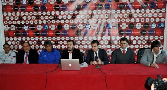 إدارة الماط تقدم المدرب الاسباني الجديد سيرجيو لوبيرا لوسائل الإعلام