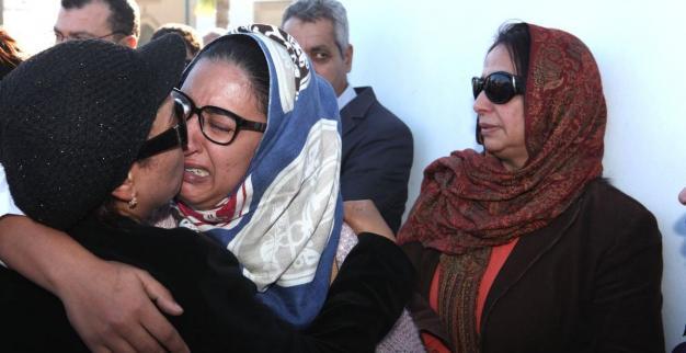 صور من جنازة الممثل الكبير محمد البسطاوي