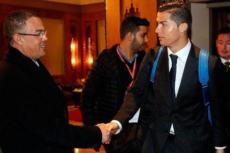 استقبال جماهيري كبير لريال مدريد عند وصوله المغرب