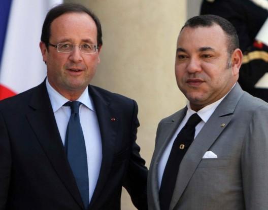 """الملك يعزي فرنسا في ضحايا مجزرة """"شارلي إيبدو"""""""