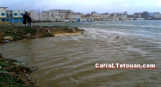 حي الديزة بمرتيل في خطر .. ! (صور)