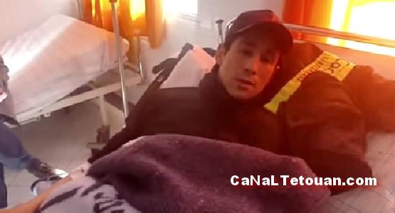 """حالة """"محمد حجي"""" حارس مستشفى سانية الرمل بتطوان غير مستقرة !"""