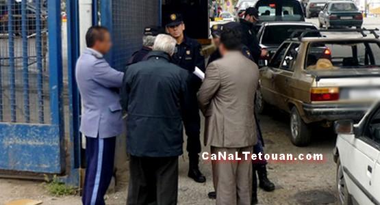 القبض على إسباني ومغربي حاولا تهريب أزيد من 40 ألف أورو عبر باب سبتة