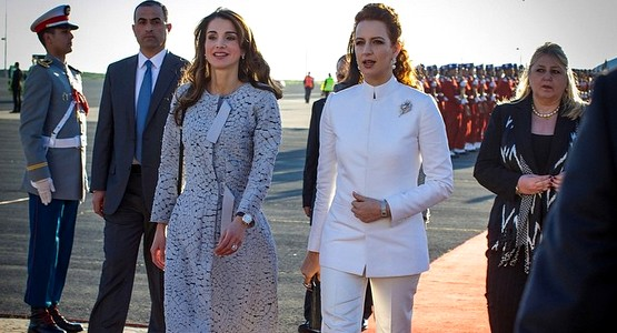 """الملكة رانيا تنشر صورة مع الأميرة للا سلمى وتصفها بـ""""الصديقة العزيزة"""""""