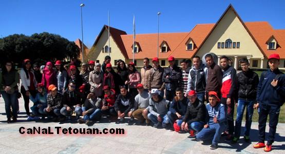 نجباء ثانوية جابر بن حيان بتطوان في ضيافة جامعة الأخوين