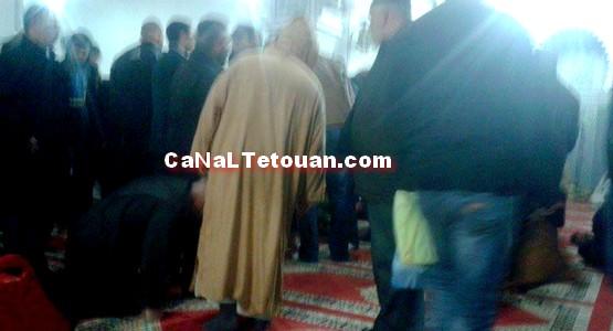 وفاة مصلي بمسجد الحسن التاني بتطوان !