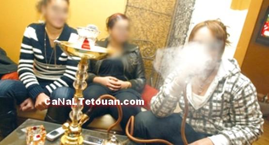 السلطات الأمنية بمدينة مرتيل تقود حملة ضد مقاهي الشيشة.