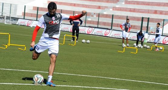 جحوح يعود لتداريب فريق المغرب التطواني و الإصابة تغيب مرتضى فال