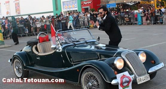 نجاح باهر لعرض السيارات القديمة بساحة مرجان تطوان (صور)