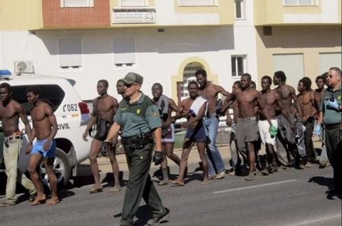 انطلاق محاكمة 16 عنصر من الحرس المدني تسببوا في غرق مهاجرين بمياه سبتة