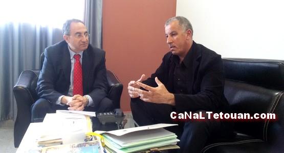 """نواة """"انقاد وادي مرتيل"""" تلتقي نائب رئيس جامعة عبد المالك السعدي"""